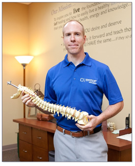 Dr. Jeff Chamberlain - Owner of West Chester Chiropractic Clinic Chamberlain Chiropractic & Wellness