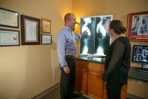 patient x-rays Chamberlain Chiropractic Best chiropractor West Chester PA