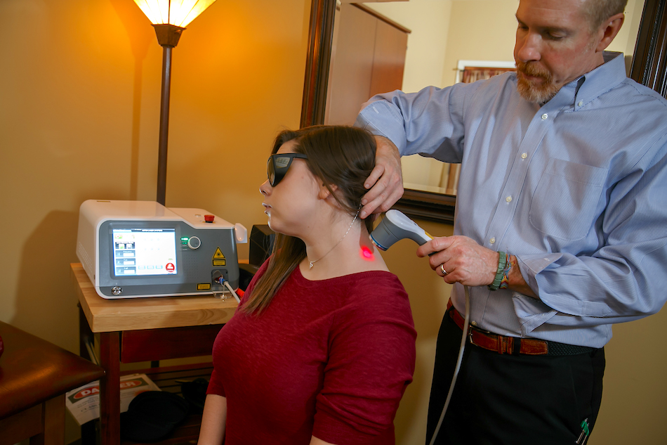 Laser therapy Chamberlain Chiropractic Best chiropractor West Chester PA